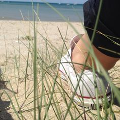 Shoes. Sand. Sun