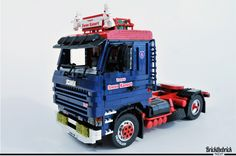 I love this truck, and is a great reason to make one in lego. Was reference i use the Stephan-M photos Technique Lego, Lego Truck, Lego Room, M Photos, Lego Worlds, Lego Technic, Legoland, Legos, Volvo