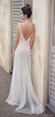 647f03737 Wedding Dresses Simple Elegant Anna Campbell 43+ Best Ideas