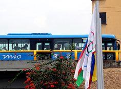 Cali iza banderas de 120 países, con motivo de los juegos mundiales 2013