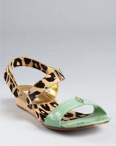 Sandals Janee Flat - Lyst