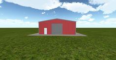 Cool 3D #marketing http://ift.tt/2shuiol #barn #workshop #greenhouse #garage #roofing #DIY