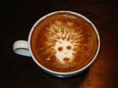 Coffee makes my hair stand on end!