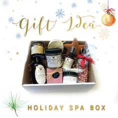 A complete spa day at home. Give that someone special this Holiday Spa Box, available only during our Black Friday Sale.