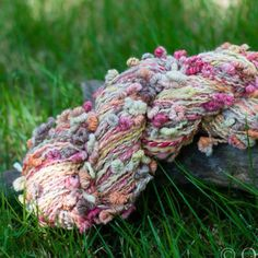 Coiled Loop Art Yarn from Quirky Bits-n-Pieces for $85.50