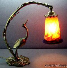 1920's Art Deco Lamp