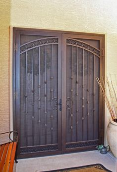 Metal screen/security door. 'Californian' by first impression