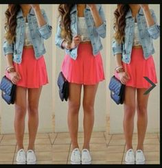 d9f1c6484 Vestidos De Moda Juveniles, Ropa Juvenil, Vestidos Con Tenis, Ropa De  Adolecentes,