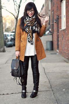 Blanket scarves styling ideas http://www.justtrendygirls.com/blanket-scarves-styling-ideas/