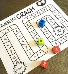 Tons of print and play partner math games! All games are black and white and only require dice, crayons, paperclips or cubes! Simple and fun way to practice fluency!