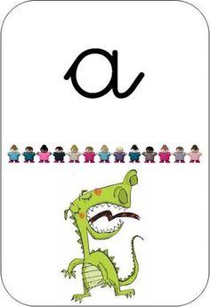 Domino abecedari quehacemoshoyenelcole.blogspot.com