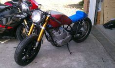Speed moto co Customers 1980 Yamaha XJ650 Cafe Racer