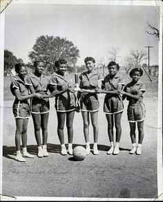 East Texas 1948 Womens Basketball Team champions