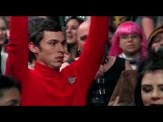 That time Sweets dressed like a red shirt - Bones Lance Sweets, John Francis Daley, Red Shirt, Bones, Tv Shows, Character, Dresses, Vestidos, Dress