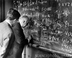 Great Physicists and Their Blackboards: Niels and Aage Bohr