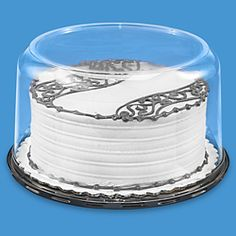 Cakesuppyshop Packaged Double Layer Clear Cake Plastic Carry Packaging  Container Display Box with Lid (Dome and Base) f31f260a71af