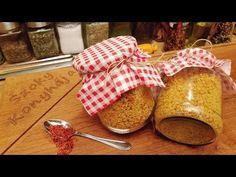 Ételízesítő házilag házi Vegeta / Szoky konyhája / - YouTube Food 52, Napkins, Vegetables, Youtube, Canning, Turmeric, Meal, Towels, Dinner Napkins