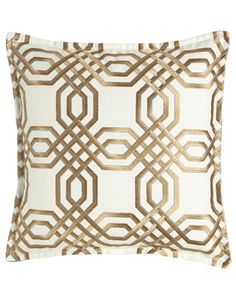 European+Braedon+Embroidered+Sham+by+Isabella+Collection+by+Kathy+Fielder+at+Neiman+Marcus.