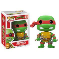 Teenage Mutant Ninja Turtles Pop Raphael Vinyl Figure