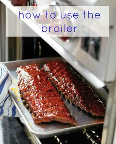 Not entirely sure what a broiler does? Like grilling, broiling uses high, direct heat to cook food quickly and give it a tasty, browned crust. Here are our tips and tricks to using it the right way.