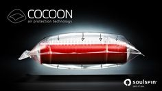 COCOON   soulspin - part of you  SOULSPIN's new AIR PROTECTION TECHNOLOGY for tabletennis rubbers