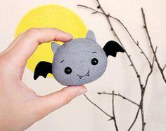 Cute Bat Halloween decoración terroríficos para Halloween lindo bebé regalos para Halloween de novio Kawaii peluche murciélago Halloween cumpleaños decoración del partido