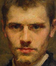 Self-portrait by Émile Friant