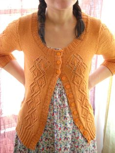 Thrift quest -- looking for a delicate orange sweater.  Not traffic cone orange.  More like inside of a butternut squash orange.