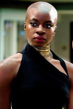 Danai Gurira in Black Panther My Friend Amy's Tumblr
