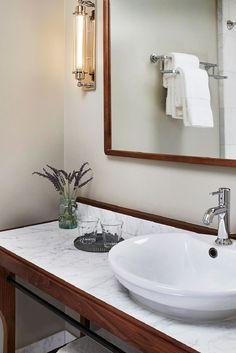 Hotel G (San Francisco, California) #Jetsetter   Nice vanity.
