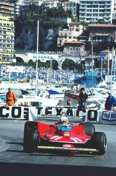 Jodi Scheckter, Ferrari 312 T4, Monoco, 1979