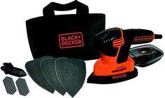 Oferta: 47.40€ Dto: -21%. Comprar Ofertas de Black & decker M293375 - Lijadora orbital black&decker mouse ka2000 120w barato. ¡Mira las ofertas!
