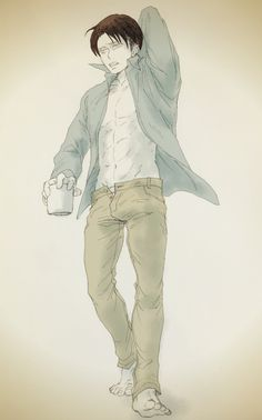 Just gonna point this out....Levi's jeans are unbuttoned....