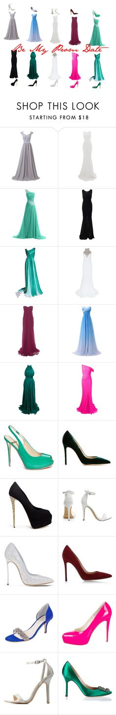 Be My Prom Date by elirana-chase on Polyvore featuring Jovani, Alexander McQueen, Monique Lhuillier, Oscar de la Renta, Blumarine, Roland Mouret, GUESS by Marciano, Brian Atwood, Manolo Blahnik and Giuseppe Zanotti
