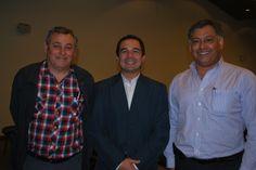 Jaime Zaror, Héctor Ormeño, Hugo Rojas.