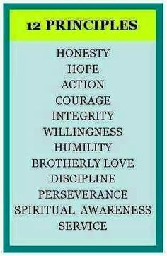 and practice these Principles in ALL our affairs. Does it make sense to you now? When you are recovering from drug addiction or alcoholism it's good to lay a foundation of principles. After all, you want a lifetime of sobriety. Aa Quotes, Inspirational Quotes, Crush Quotes, Motivational, Addiction Recovery Quotes, Al Anon, Relapse Prevention, Messages, Serenity