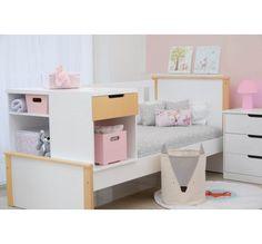 Cama cucheta con cuna Loft, Bed, Furniture, Home Decor, Verandas, Drawers, Stream Bed, Room Decor, Home Interior Design