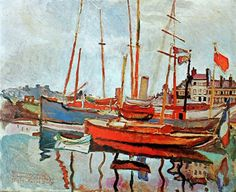 DUFY PORT OF HAVRE