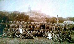 Kadaň - Vojáci 74.pěšího pluku - 1915