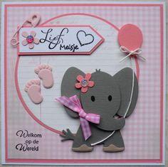 meisje en olifant