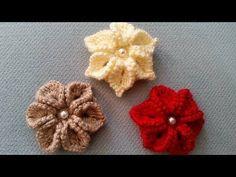 Puf Lif Çiçeği Yapımı - YouTube