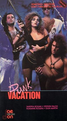 Raedon Home Video VHS Covers: Punk Vacation