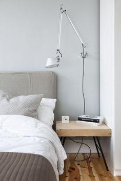 Minimal Apartment Bedroom 2 620x930 Minimal Apartment in Poland