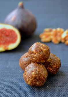 Fig Newton Energy Balls make for a delicious snack that is also good for you. Can be made in under 10 minutes. Grain/Gluten Free, Dairy Free, Paleo, Vegan