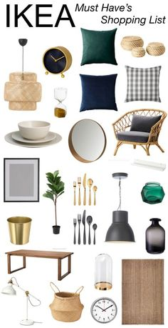 living room decor Sharing some of the best IKEA fi - roomdecor Interior Design Living Room, Living Room Decor, Living Rooms, Mood Board Interior, Ikea Interior, Scandinavian Interior Design, Boho Living Room, Contemporary Interior, Ikea Must Haves