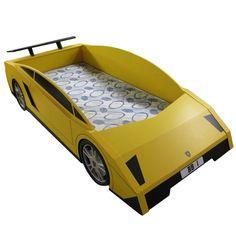 Car bed.