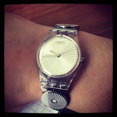 montre swatch disco lady