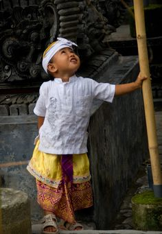Child In Traditional Dress - Bali, Indonesia