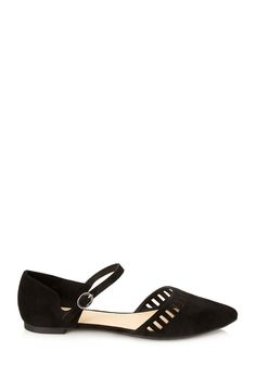 Pointed Cutout Flats