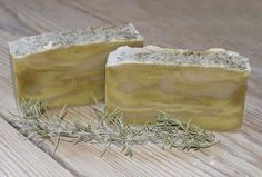 How To Make Rosemary Soap. Rosemary is a type of evergreen woody shrub which provides countless benefits for skin and health. A simple way to implement all its properties and apply them in our daily lives is through the use of . Savon Soap, Soap Maker, Homemade Soap Recipes, Soap Bubbles, Healthy Beauty, Body Lotions, Natural Cosmetics, Home Made Soap, Handmade Soaps